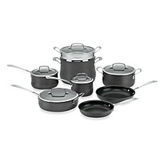 Cuisinart® Contour™ Hard Anodized 13-Piece Cookware Set and Open Stock