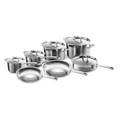 Le Creuset® Stainless Steel 12-Piece Cookware Set