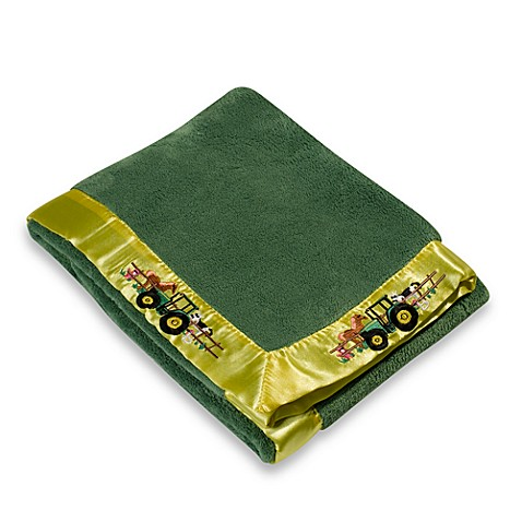 John Deere Fleece Blanket Farm Buybuy Baby