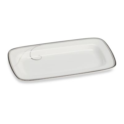 Noritake® Platinum Wave Butter Tray