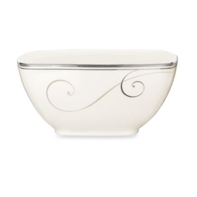 Noritake White Square Bowl