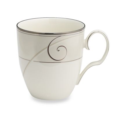 Noritake® Platinum Wave 15-Ounce Mug