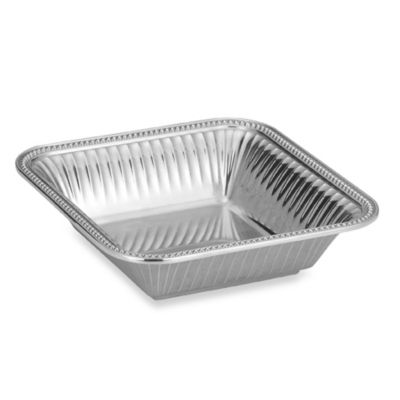 Wilton Armetale® Flutes and Pearls 12-Inch Square Bowl