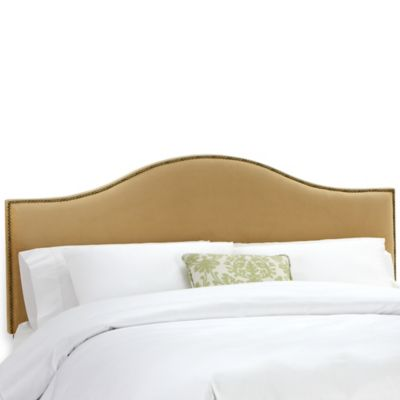 Skyline Furniture Tara King Headboard in Honey