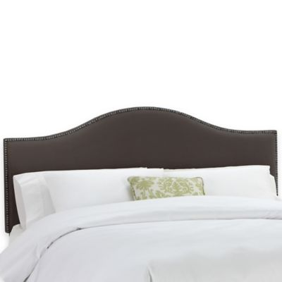 Skyline Furniture Tara California King Headboard in Pewter