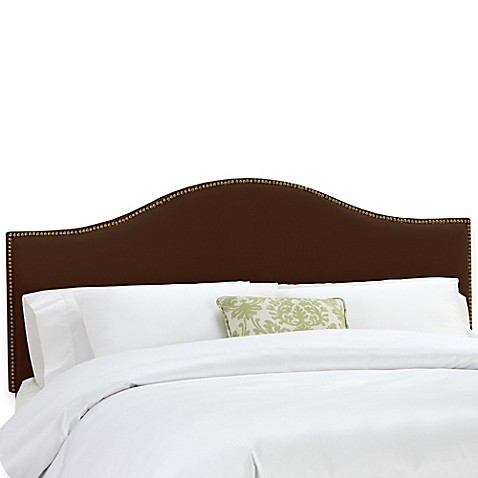 Skyline Furniture Tara Headboard in Chocolate