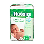 80-Count Huggies® Pure and Natural Size 1 Diapers