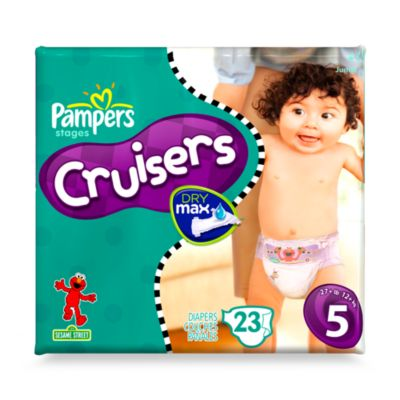 Pampers® 23-Count Size 5 Cruisers Diapers