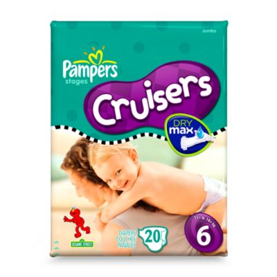 20-Count Pampers® Cruisers Size 6 Diapers
