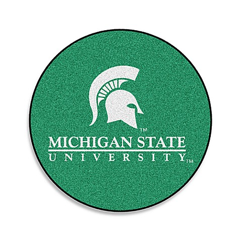 Michigan State Collegiate Team Rug