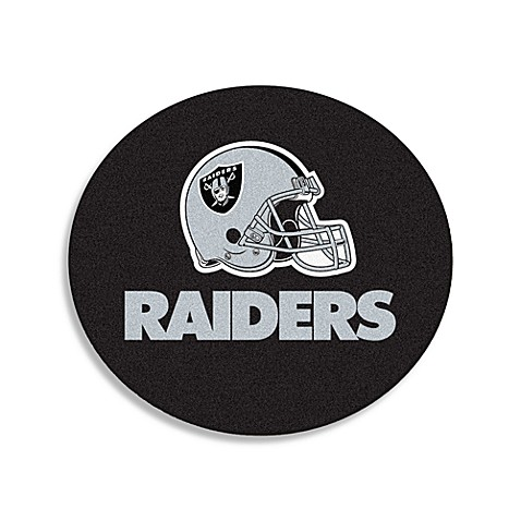 NFL Team Rug in Oakland Raiders