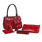 Aspen Satchel Tote in Red