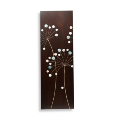Dandelion I Wood Plaque