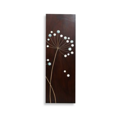Dandelion III Wood Plaque