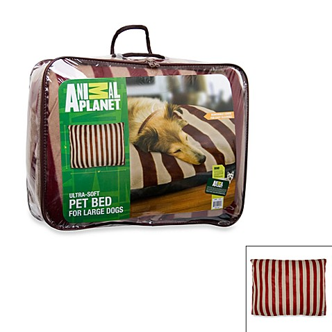 Animal Planet™ Large Pet Bed in Red/Tan