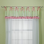 My Baby Sam Paisley Splash Valance in Pink