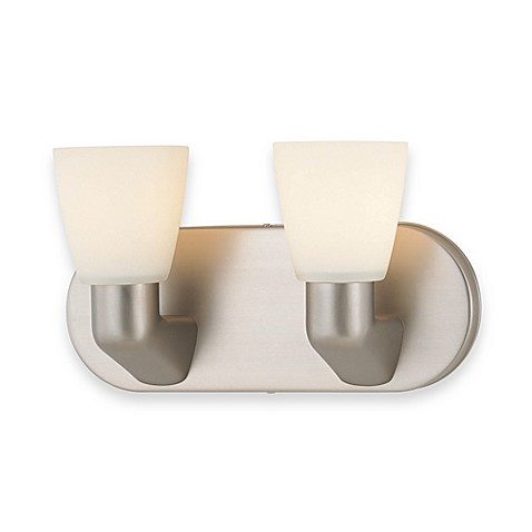 Lite Source Zata 2-Light Vanity Wall Sconce