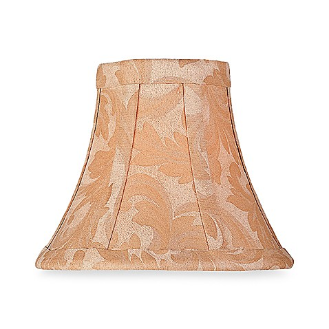 Jacquard Brocade Chandelier Shade in Champagne