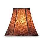 Brown Jacquard Modified Bell Chandelier Shade