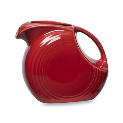 Fiesta® Large Pitcher in Scarlet