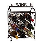 Vintage 9-Bottle Wine Holder