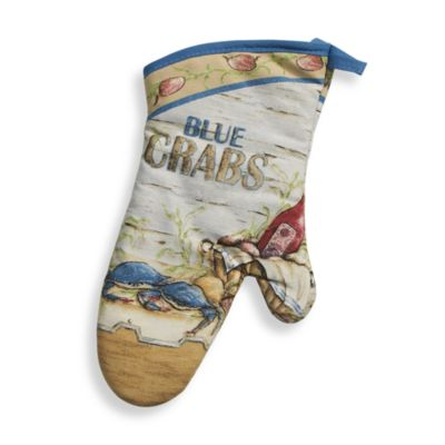 Blue Crabs Oven Mitt