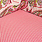 My Baby Sam Paisley Splash Fitted Crib Sheet in Pink