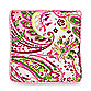 My Baby Sam Paisley Splash Throw Pillow in Pink