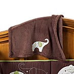 Carter's® Green Elephant Boa Blanket