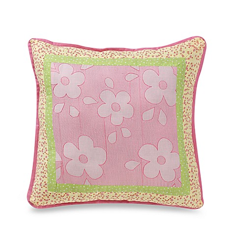 Pretty in Pink 16-Inch Square Throw Pillow