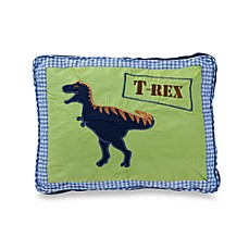 Dinosaur Oblong Toss Pillow