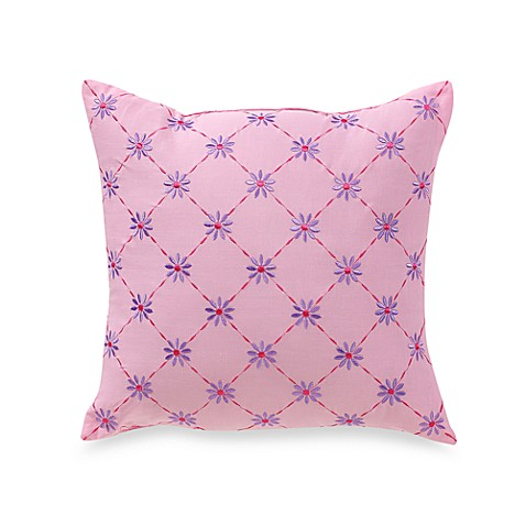 Lily Frog 16-Inch Square Throw Pillow