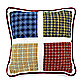 Ball Game 16-Inch Square Toss Pillow