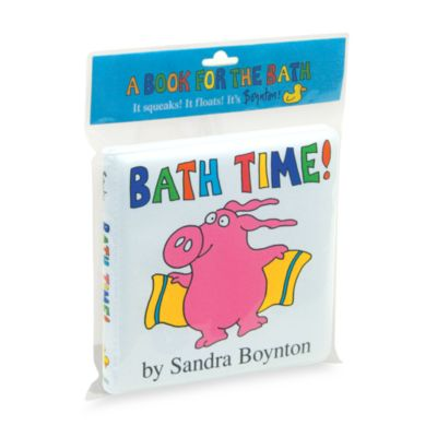 Bath Time! Bath Book By Sandra Boynton