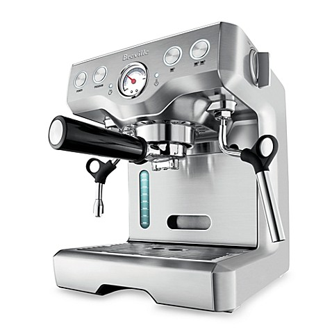 Breville® Die-Cast Programmable BES830XL Automatic Espresso Machine