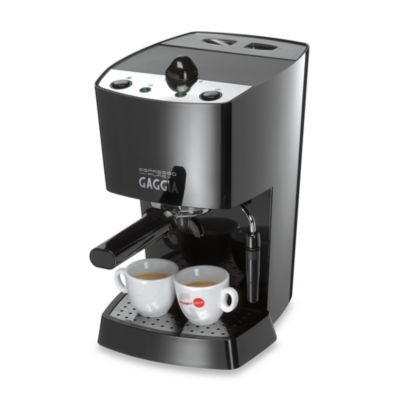 Gaggia 12600 Pure Black Espresso Machine - Bed Bath & Beyond