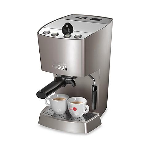 gaggia dose espresso machine review