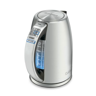 Cuisinart® PerfecTemp™ Stainless Steel Cordless Programmable Electric Kettle