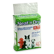 IRIS USA Neat 'n Dry™ 10-Pack Medium Floor Protection and Training Pads