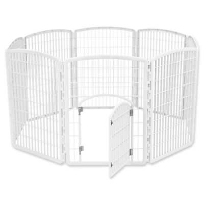 IRIS USA 8-Panel Plastic Pet Pen