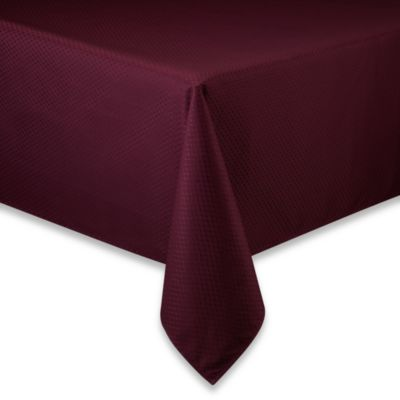 McKenna 70-Inch x 84-Inch Oblong Microfiber Tablecloth in Amethyst