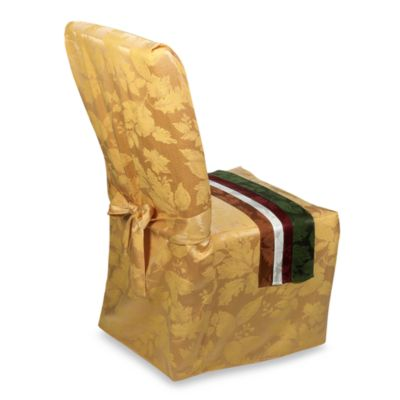 Autumn Harvest Dining Room Chair Cover