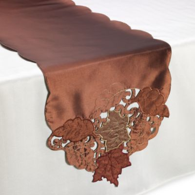 Bronze Thanksgiving Table Linens