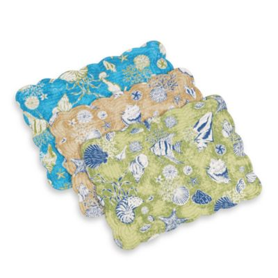 By the Sea Quilted Placemat