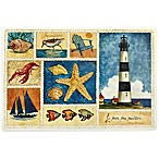 Beach Collage Laminated Placemat