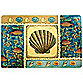 Avanti Pacific Sea Laminated Placemat