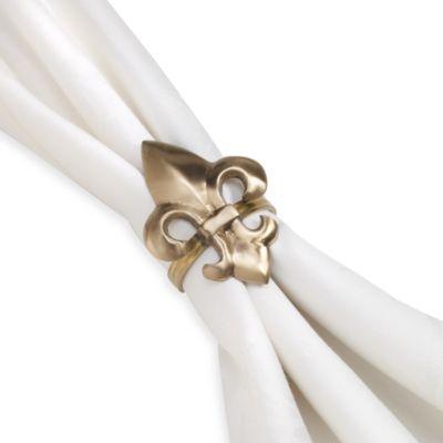 Fleur-de-lis Napkin Ring
