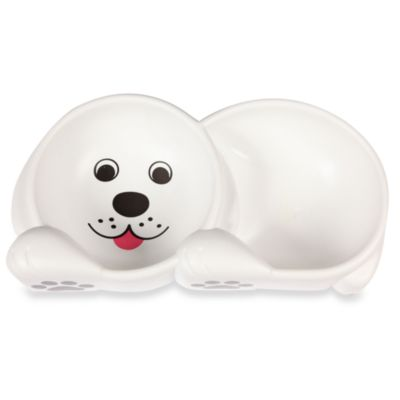 Dog Design Double Bowl Feeding Dish