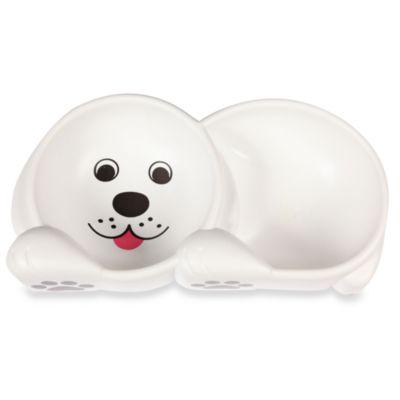 Dog Design Double Bowl Feeding Dish