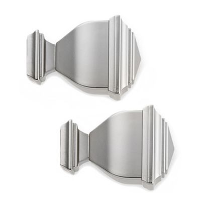 Cambria Complete Brushed Nickel Napolean Finial
